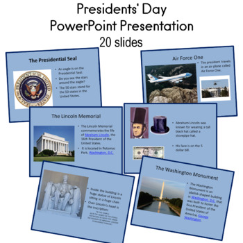 Presidents' Day PowerPoint Presentation