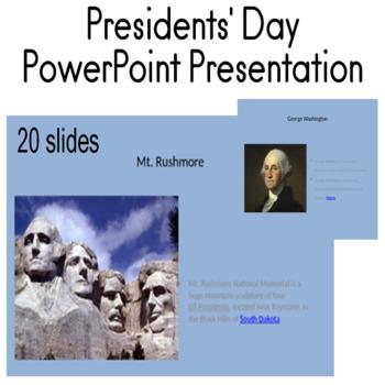 Presidents' Day PowerPoint Presentation