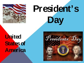 President's Day Powerpoint PPT and United States President