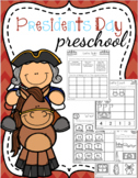 Presidents Day Preschool Printables