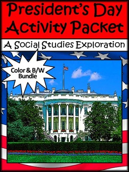 President's Day & Inauguration Activities: President's Day Activity Packet