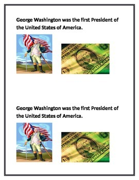Presidents Day Printable Book
