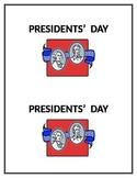 Presidents Day Printable Book
