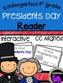 Presidents Day Printable Reader for Kindergarten and First Grade