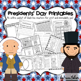 Presidents' Day Printables