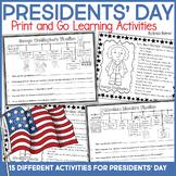 Presidents' Day Printables