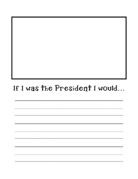President's Day Prompt