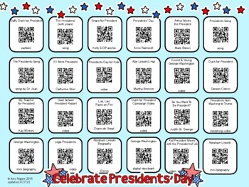 President's Day QR Codes