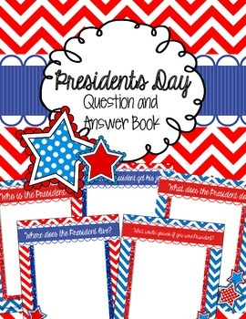 President's Day Question Book
