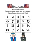 President's Day Race to 20 Game