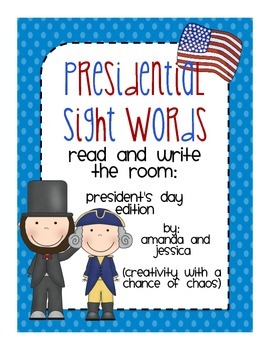 President's Day: Read and Write the Room