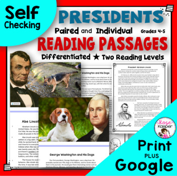 Presidents Day Reading Passages