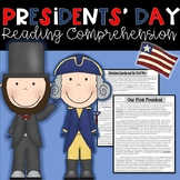 Presidents Day Reading Passages with Common Core Aligned Q