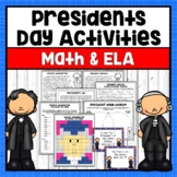 Presidents Day- Reading passages, close reading, Who am I
