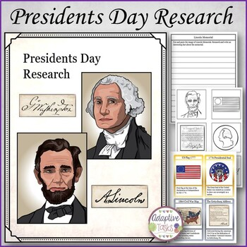 Presidents Day Research