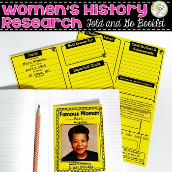 Women's History Month Research Activity