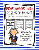 Presidents' Day Research Banner