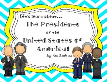 President's Day Research Project and Booklet