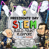 Mount Rushmore Presidents Day STEM Activity