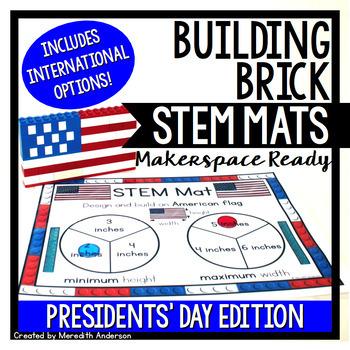 Presidents' Day STEM Center for Building Bricks