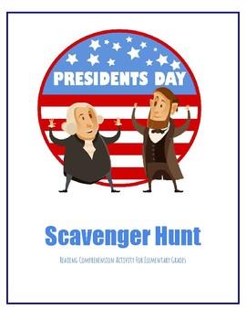 Presidents' Day Scavenger Hunt Activity