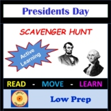 President's Day Scavenger Hunt: George Washington & Abraham Lincoln