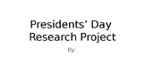 Presidents' Day Slide Project