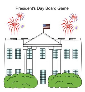 President's Day Smartboard Board Game