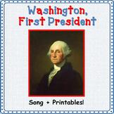 Presidents' Day Song/George Washington Song: mp3, Lyrics S