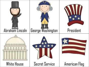 Presidents Day Speech and Language Packet