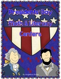 Presidents' Day Standards Based Math and Literacy Centers