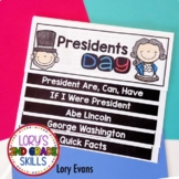Presidents Day Step Book