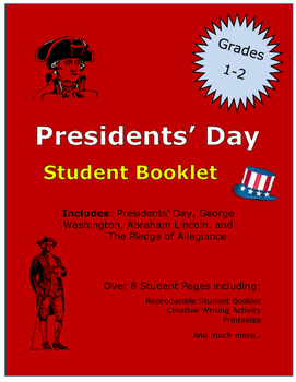 Presidents' Day Student Activity Booklet