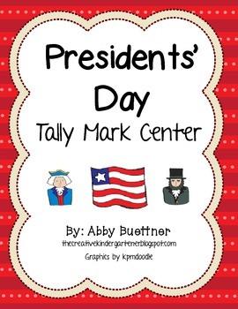 Presidents' Day Tally Mark Center