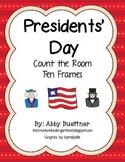 Presidents' Day Ten Frame Math Center