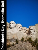 Presidents Day Thematic Literacy & Math Activities