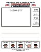 Presidents' Day Themed Activity Set / Worksheets + Flashcards