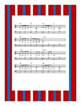 President's Day Thomas Jefferson Sheet Music