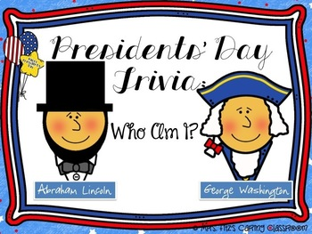 Dollar Deal - Presidents' Day Trivia Game