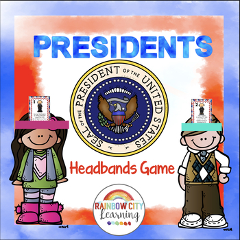 Presidents Day U.S. Presidents Headbands Game