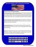 Presidents Day US President Text Message with Phone Template