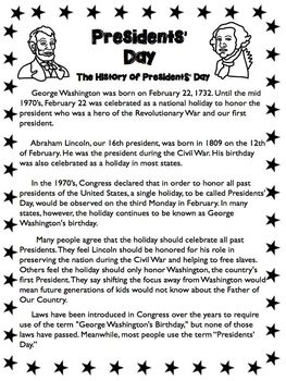 Presidents' Day Unit & Flip-Flap Book Math & ELA