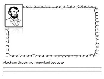 Presidents' Day Unit Lapbook