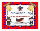 President's Day Unit Literacy and Math Fun