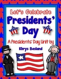 Presidents' Day Unit {Mini Book} {Literacy Centers} {and MORE} {Over 100 Pages}