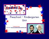 Presidents Day Unit for Preschool - Kindergarten