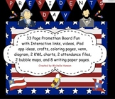 President's Day Unit with Interactive Activities for Promethean Board