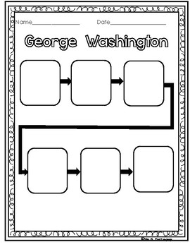 Presidents' Day Washington and Lincoln Graphic Organizers