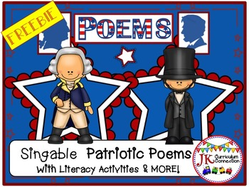 Presidents' Day - Washington and Lincoln Poems FREEBIE!