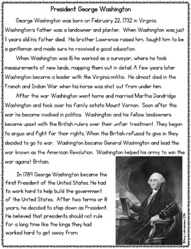 George Washington and Abraham Lincoln Biography